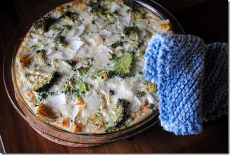 artichoke quiche