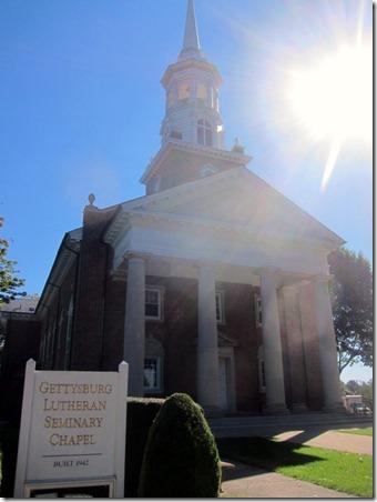 lutheran church seminary gettysburg