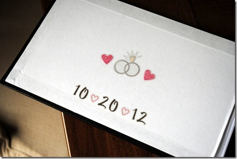 wedding date book