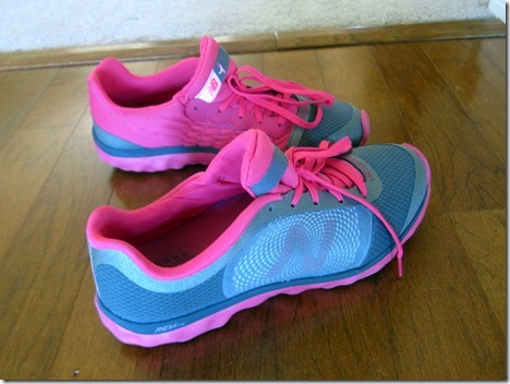 new balance pink walking shoes