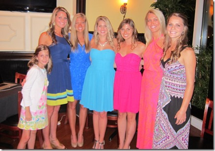 laurel's bridal party
