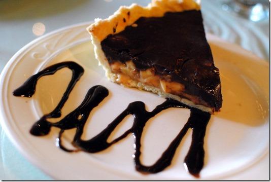Banana Toffee Chocolate Pie