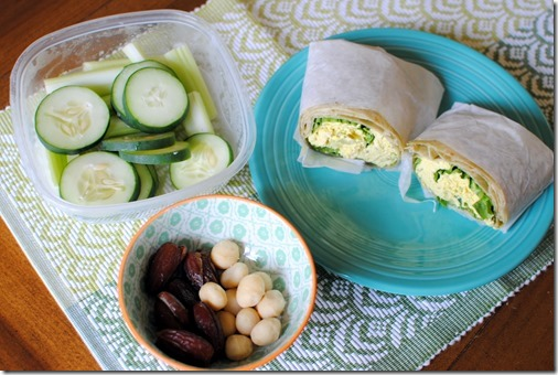 Eggless Egg Salad Wrap