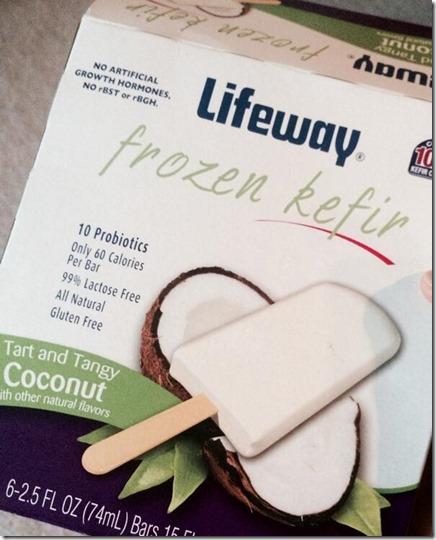 Lifeway Kefir Coconut Bars