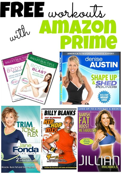 Free Workouts With Amazon Prime