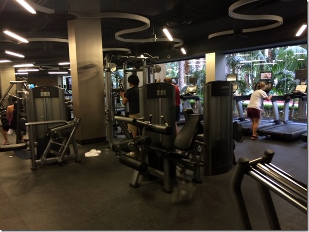 Marriott Anaheim Gym