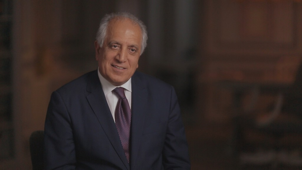 Zalmay Khalilzad served as the U.S. ambassador to Iraq from 2005 to 2007. He later served as the U.S. ambassador to the United Nations.
