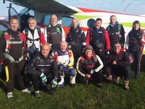 Les participants du Challenge du Conseil Départemental de l'Oise 2015 de Précision d'Atterrissage