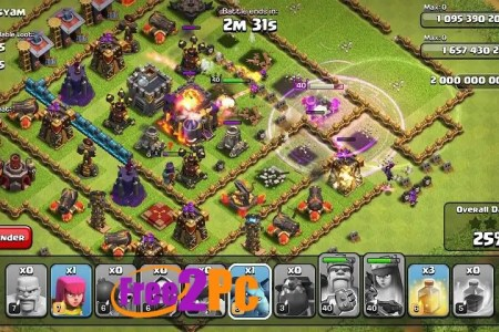 clash of clans unlimited apk free download www free2pc com
