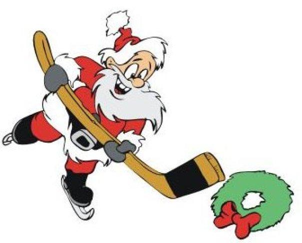 hockey-santa