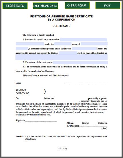 Certificate of Corporate Resolution – Corporate Certificate Template
