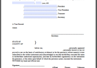 Sample certificates free fillable pdf forms for Certificate of incumbency template