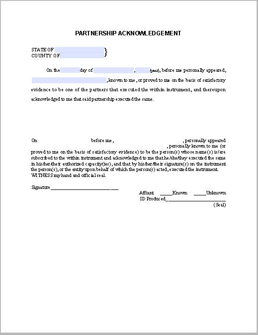 Debt Acknowledgement Letter Sample | Free Fillable PDF Forms