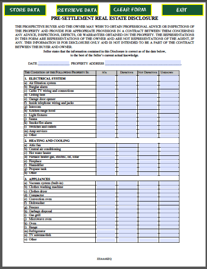 Disclosure Of Ownership Form 2015 | Free Here