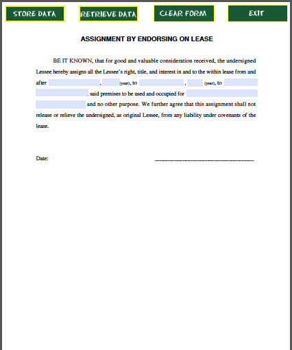 assignment of liabilities agreement