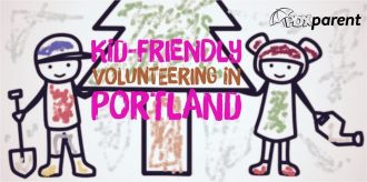 portland kid friendly volunteering