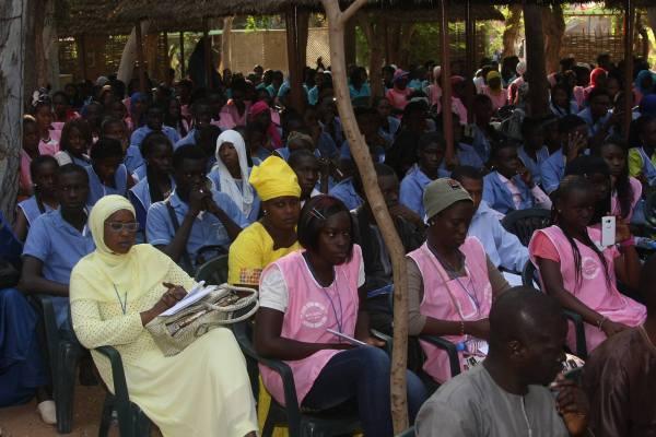 Cours Sainte Marie in Dakar… a school promoting peace education