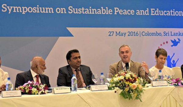 Government of Sri Lanka and UNICEF host the South Asia Regional Symposium on Sustainable Peace and Education