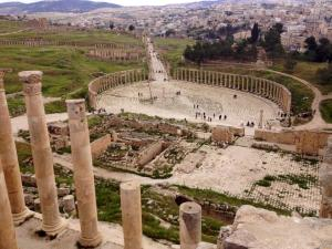 The Roman ruins at Jerash. Anecdotally, there were far more visibly Salafist people when the author was there two months ago, than when he visited two years ago. PC: Eddie Grove