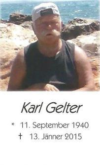 GELTER Karl