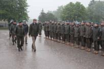 Verabschiedung AUTCON14/UNIFIL bei der Auslandseinsatzbasis in Götzendorf