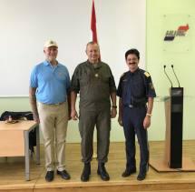 Tischlinger mit Brigadier Nikolaus Egger und Brigadier Erwin Spenlingwimmer