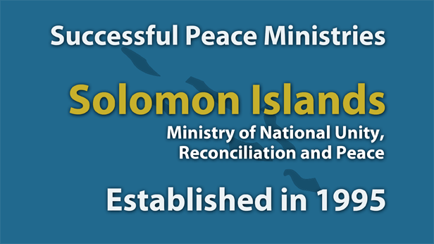 Solomon Islands Ministry of National Unity, Reconciliation and Peace