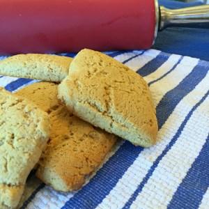 Vanilla Protein Powder Shortbread Cookies