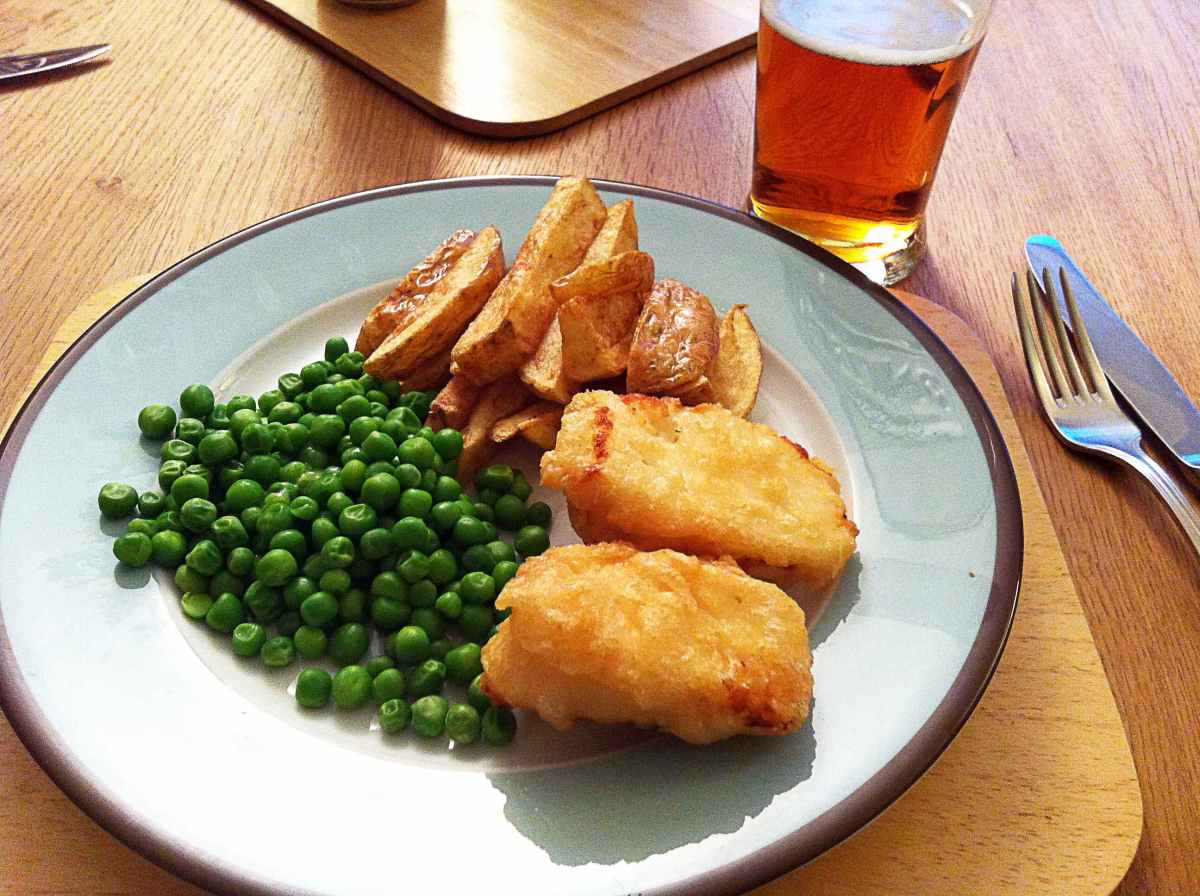 Beer Battered Halloumi