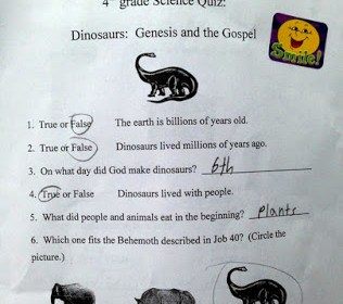 Creationism-Science-Test