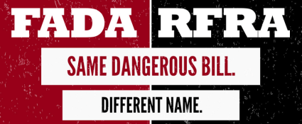 FADA is the same as RFRA
