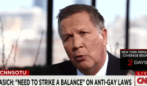 Kasich tells LGBT people to Get Over It