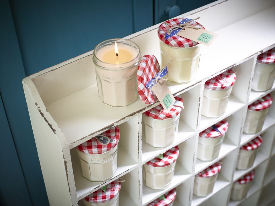 Jam jars --- perfect for outdoors