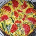 Vegetable Egg Quiche
