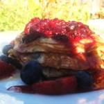 My first post – Whole Wheat Yogurt Pancakes