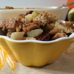 Apple, Walnut and Cranberry Stuffing