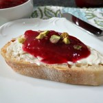Cranberry Orange Jam and Crostinis