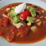 Southwestern Chicken Soup Revamped