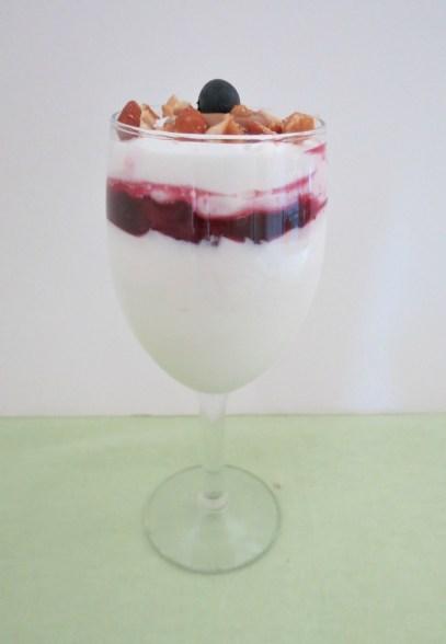 Peanut Butter and Jelly Greek Yogurt