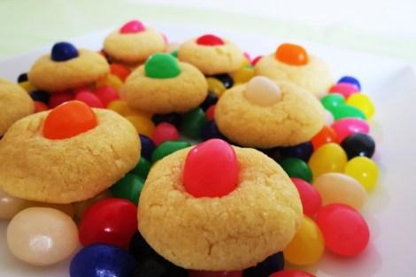 Jelly Bean Sugar Cookies