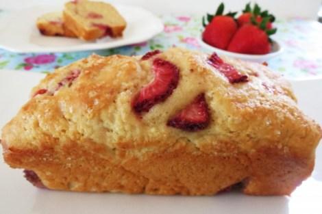 Strawberry Yogurt Bread
