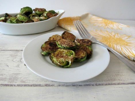Oven Roasted Balsamic Glazed Brussels Sprouts