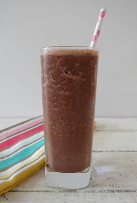Chocolate Banana Peanut Butter Smoothie