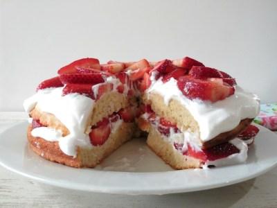 Strawberry Coconut Shortcake