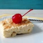 Banana Cream Pie Bars #SundaySupper