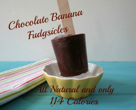 Chocolate Banana Fudgsicles