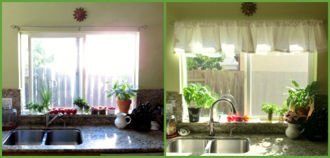 Kitchen Before and After  #DeltaFaucetInspired.