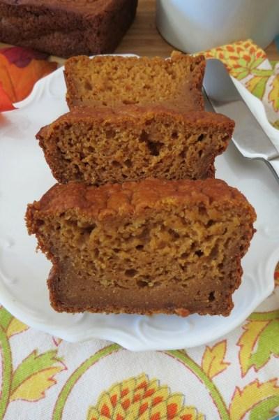 Pumpkin Bread  (Egg less)