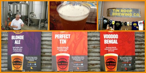 Tin Roof Brewery Collage
