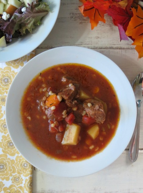 Beef and Barley Soup - Crockpot